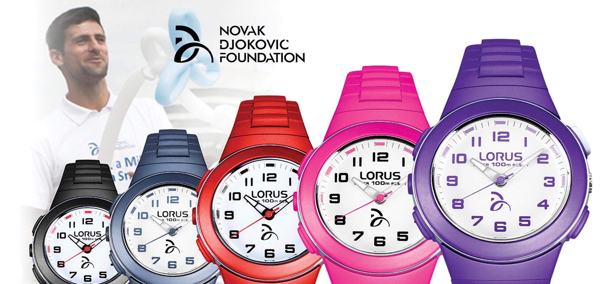 Lorus 2015 The Novak Djokovic Foundation Collection